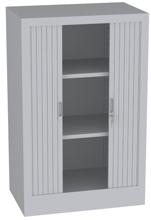 00150696 Szafa żaluzjowa, 2 półki (wymiary: 1250x800x500 mm)