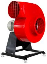 08549409 Wentylator promieniowy stacjonarny z ramą amortyzującą i z ramą amortyzującą WPA-7-E-3-N-S 400V (obroty synchroniczne: 3000 1/min, moc: 1,1 kW, wydajność wentylatora: 3100 m3/h)