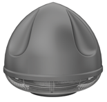 08549452 Wentylator przeciwwybuchowy dachowy SPARK-S-710/1000/Ex (obroty synchroniczne: 1000 1/min, moc: 7,5 kW, wydajność wentylatora: 27580 m3/h)