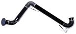 08549538 Odciąg stanowiskowy, ramię odciągowe ze ssawką z lampką halogenową i transformatorem, wersja stojąca ERGO-DL/Z-2-R (średnica: 200 mm, długość: 2 m)