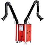 08549588 Urządzenie filtrowentylacyjne dwustanowiskowe, wersja naścienna - bez ramion odciągowych UFO-2-HN-S (podciśnienie maksymalne: 2600 Pa, moc: 2,2 kW, wydajność: 3000 m3/h)