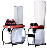 08549618 Urządzenie filtrowentylacyjne, odpylacz z workiem zbiorczym polietylenowym oraz filtrem workowym bez przewodów elastycznych i wyposażenia EGO-2W/M (powierzchnia filtracyjna: 5 m2, moc: 1,5 kW, wydajność: 3950 m3/h)