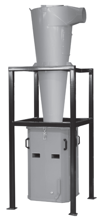 08549633 Odpylacz cyklonowy bez wentylatora STORM-SOFT-2000-H (pojemność pojemnika na odpady: 330 dm3)