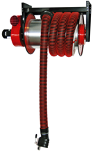 08549679 Odsysacz spalin, bęben odsysacza z napędem elektrycznym, z wentylatorem zamocowanym do odsysacza, zestawem wężowym, zespołem elektrycznym - bez ssawki ALAN-U/E-8 (długość węża: 8m, średnica: 100mm)