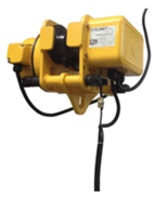33938860 Wózek przejezdny do wciągnika EWE 1 (udźwig: 1 T, szerokość profilu: 74-124 mm)