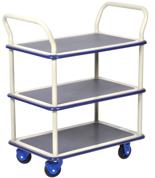 39955537 Wózek warsztatowy, 3 półki (wymiary: 740x480x1090mm)