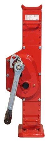 DOSTAWA GRATIS! 030739 Podnośnik kolejowy ze stópką przymocowaną na stałe (udźwig: 10 T)