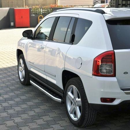 DOSTAWA GRATIS! 01655706 Stopnie boczne - Jeep Compass (długość: 171-180 cm)