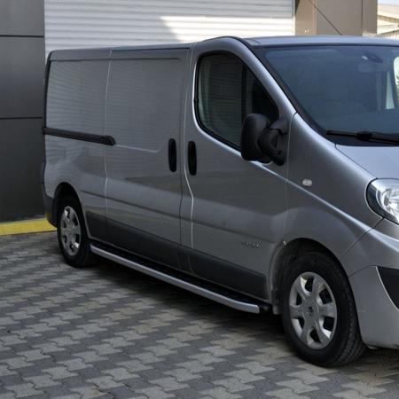 DOSTAWA GRATIS! 01655751 Stopnie boczne - Opel Vivaro 2001-2014 long (długość: 252 cm)