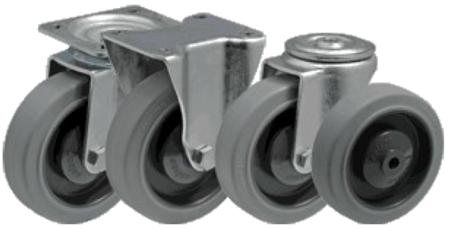 DOSTAWA GRATIS! 13340590 Wózek platformowy ręczny jednoburtowy (koła: pełna guma 160 mm, nośność: 400 kg, wymiary: 1000x600 mm)