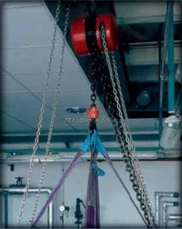 DOSTAWA GRATIS! 2209154 Wciągnik łańcuchowy z przekładnią planetarną Z100/1.6t (wysokość podnoszenia: 6m, udźwig: 1,6 T)