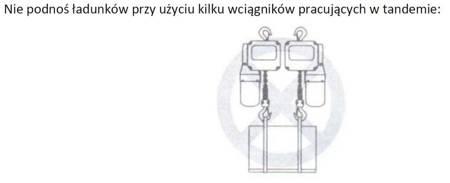 DOSTAWA GRATIS! 33948815 Wciągnik łańcuchowy elektryczny ELL 3 (udźwig: 3 T, wysokość podnoszenia: 3 m)