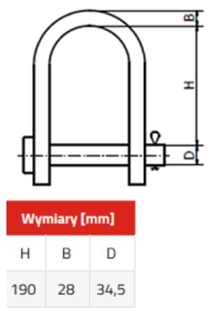 DOSTAWA GRATIS! 3398531 Chwytak magnetyczny z magnesem stałym PKN 2,0 (udźwig: 2 T)