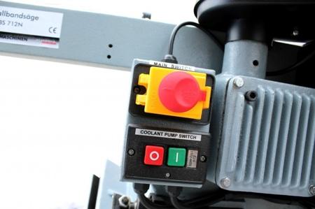 DOSTAWA GRATIS! 44350085 Piła taśmowa do cięcia metalu Holzmann (prędkość cięcia: 22-34-49-64 m/min, wymiary taśmy: 2368x0,8x19 mm, moc: 1,2 kW)