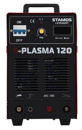 DOSTAWA GRATIS! 45643382 Przecinarka plazmowa Stamos 400V, 3-Fazowe (prąd cięcia: 20-120A. grubość /szerokość cięcia: 32 /1,4mm)