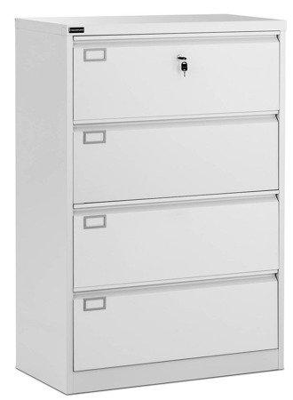 DOSTAWA GRATIS! 45674780 Szafa metalowa Fromm & Starck - 4 szuflady (wymiary: 90 x 45 x 132 cm)