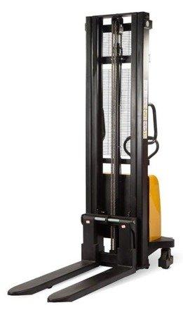 Hydrauliczny wózek podnośnikowy półelektryczny (udźwig: 1500 kg, długość wideł: 1150 mm, wysokość podnoszenia: 2500 mm) 85076135
