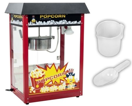 Maszyna do popcornu Royal Catering (moc: 1600W, wydajność: 5 - 6 kg/h) 45643430