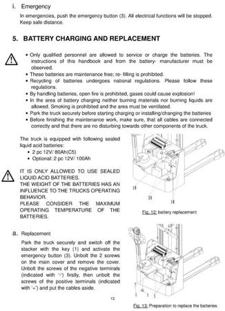 SWARK Wózek paletowy elektryczny GermanTech (udźwig: 1000 kg, długość wideł: 1150 mm, wysokość podnoszenia: 1600 mm) 99746696