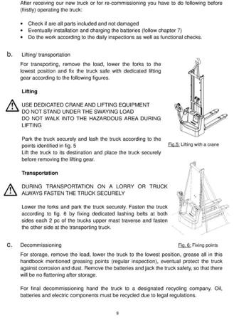 SWARK Wózek paletowy elektryczny GermanTech (udźwig: 1000 kg, długość wideł: 1150 mm, wysokość podnoszenia: 3500 mm) 99746695