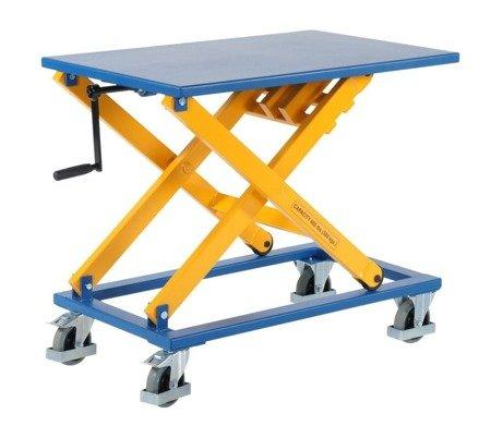 SWARK Wózek platformowy nożycowy GermanTech (udźwig: 300 kg, wymiary platformy: 950x600 mm, wysokość podnoszenia min/max: 450-1050 mm) 99724840
