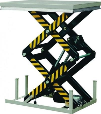 Stacjonarny stół podnośny (udźwig: 2000 kg, wymiary platformy: 1300x850 mm, wysokość podnoszenia min/max: 360-1780 mm) 3109777
