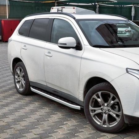 Stopnie boczne - Mitsubishi Outlander 2007-2012 (długość: 171 cm) 01655737