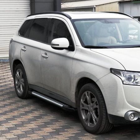 Stopnie boczne - Mitsubishi Outlander 2007-2012 (długość: 171 cm) 01656049