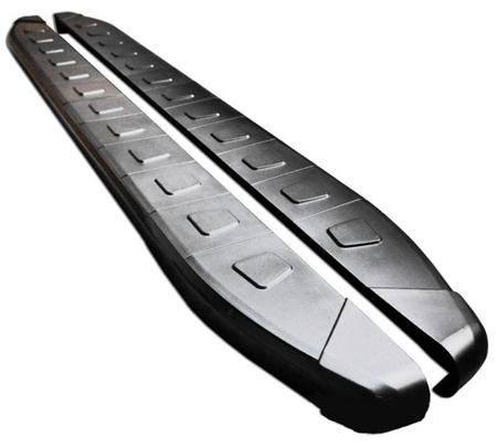 Stopnie boczne, czarne - Opel Vivaro 2001-2014 long (długość: 252 cm) 01655961