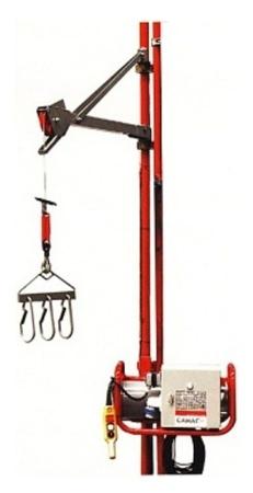 Wciągarka elektryczna linowa budowlana + lina 70m + sterownik z kablem 3m (udźwig: 80 kg) 08126411