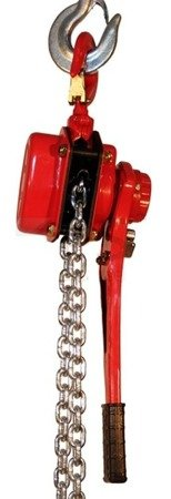 Wciągnik łańcuchowy ręczny dźwigniowy (udźwig: 6000 kg, długość łańcucha: 1,5m) 03076108