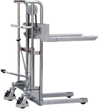 Wózek podnośnikowy z wyciągarką (udźwig: 400 kg) 310500